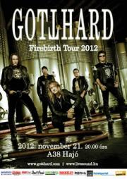 Gotthard - Firebirth Tour 2012