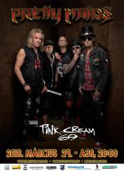 Kingmaker European Tour 2018: Pretty Maids, Pink Cream 69