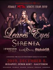 A Hammer Concerts bemutatja: FEMALE METAL VOICES TOUR 2019