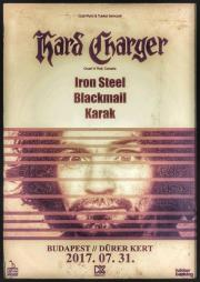 Hard Charger (can) koncert Budapesten!