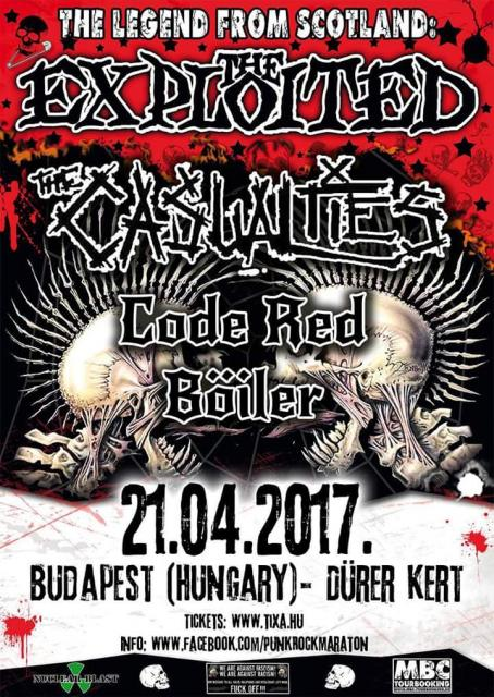 The Exploited *Wattie 60* & The Casualties