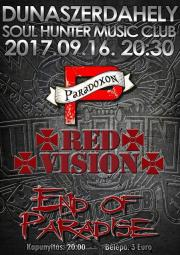 End of Paradise ★ Red Vision ★ Paradoxon koncert