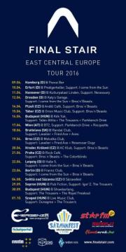 FINAL STAIR East Central Europe Tour 2016